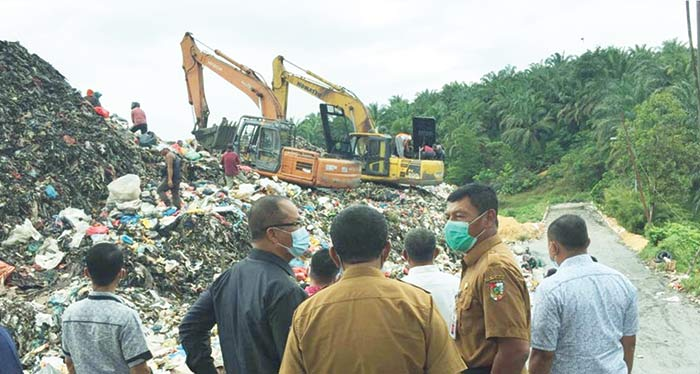 Pengelolaan Sampah di TPA Tak Maksimal