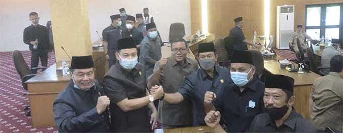 Indra Gunawan Diumumkan sebagai Ketua DPRD Siak