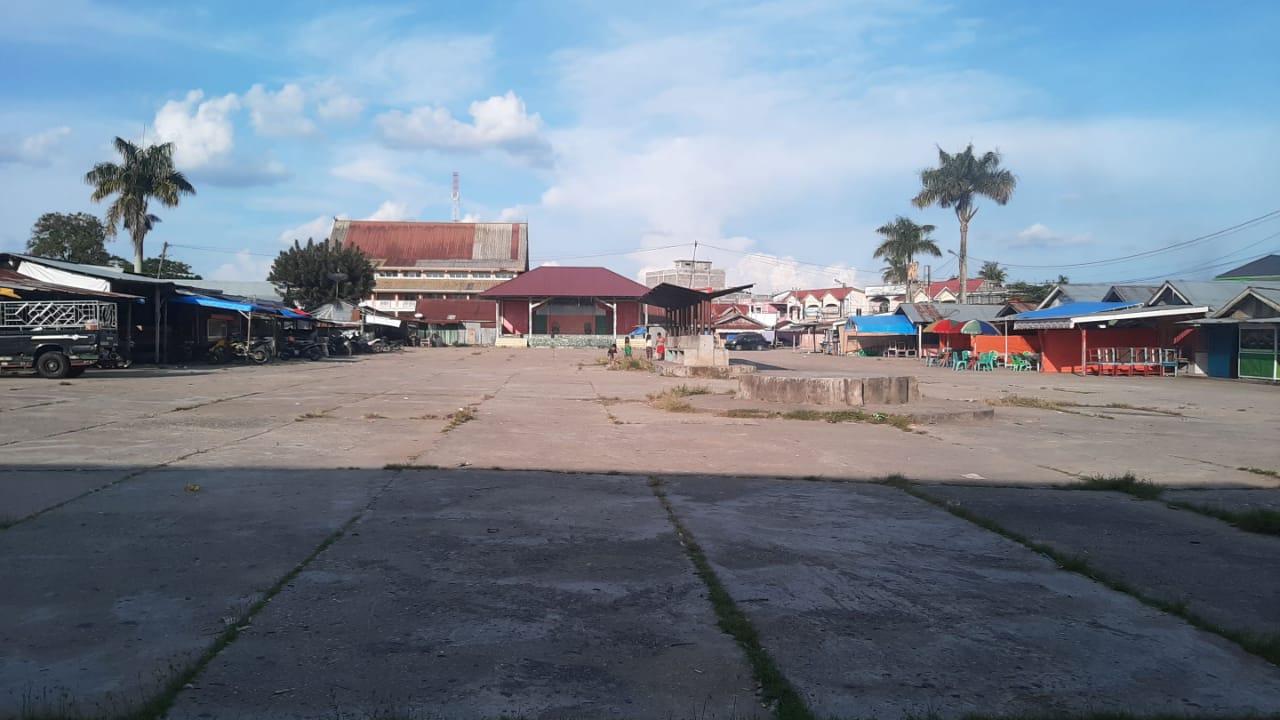 Pembangunan Pasar Sri Gading Air Molek Belum Jelas, Pedagang Sudah Dikutip Pendaftaran