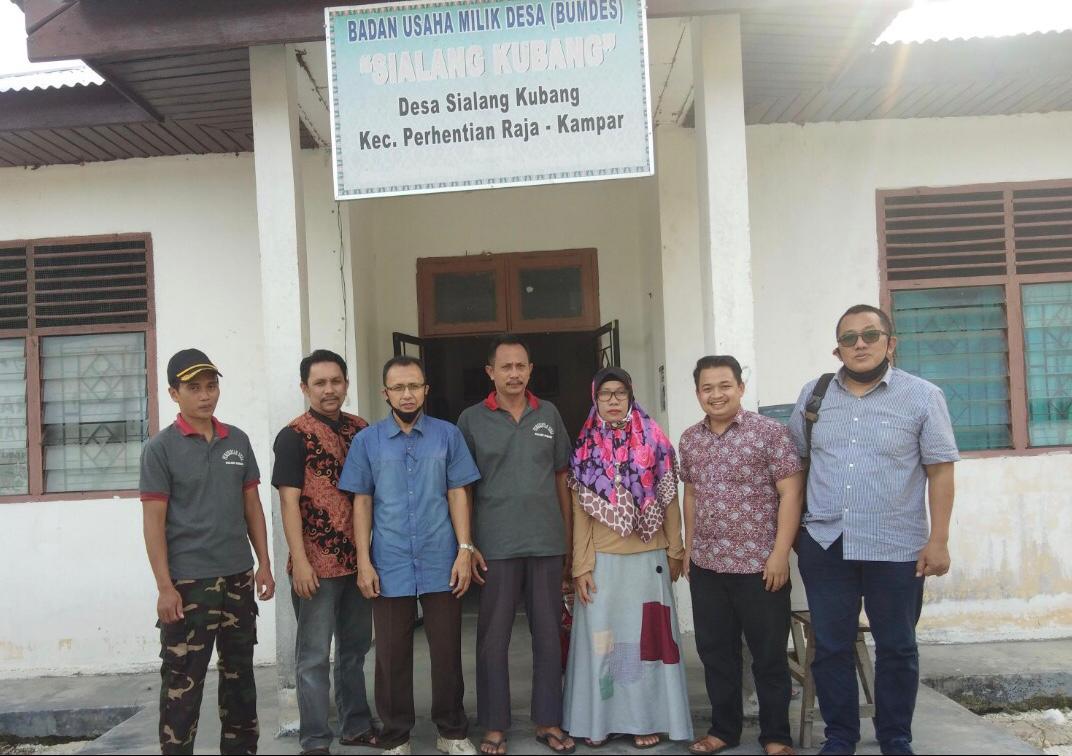 Tim Pelita Indonesia Dampingi Tata Kelola BUMDes di Kampar