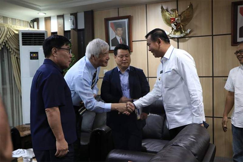 Wako Pekanbaru - Investor Korsel Bahas Inventasi Peternakan Sapi Rp1,5 T