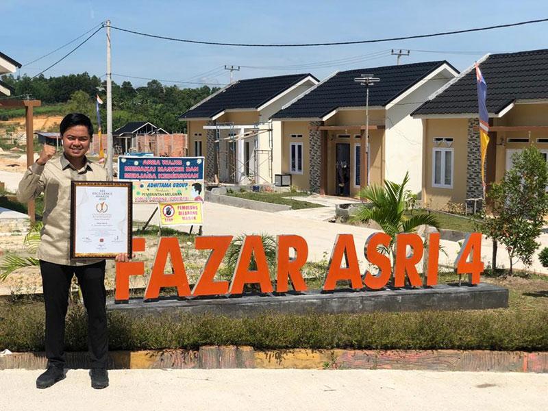 PT Adhitama Jaya Properti Raih REI Exellence Award 2020