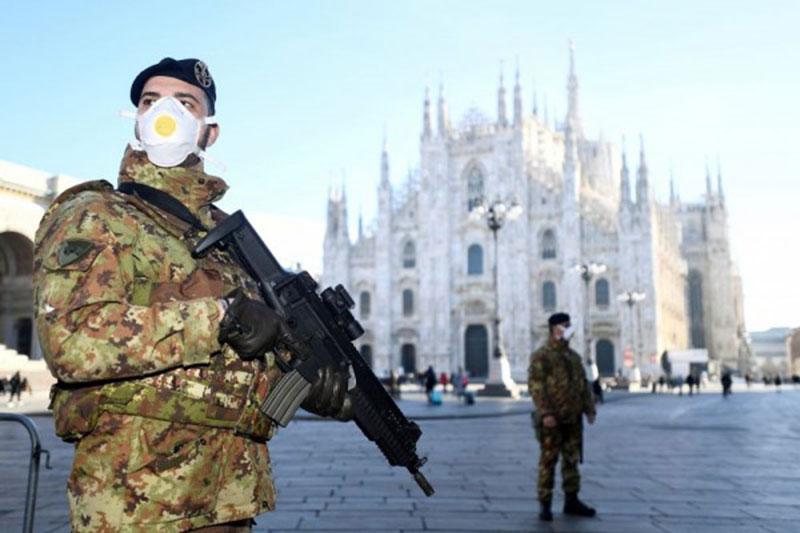 Italia Lampaui Cina, AS Tertinggi Kasus Corona