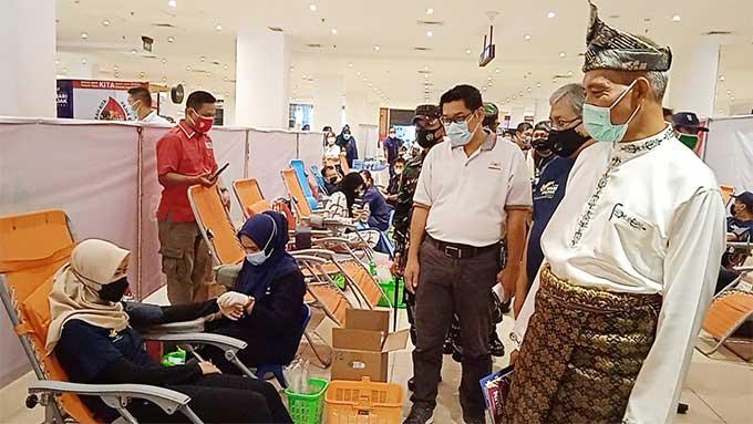 Relawan Peduli Covid Dipercaya Selenggarakan Donor Darah Hari Pajak