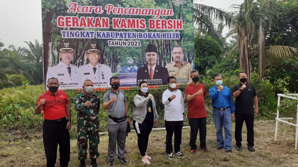 Wabup Rohil Canangkan Gerakan Kamis Bersih
