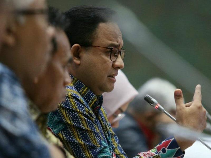 Lockdown Jakarta, Anies Koordinasi dengan Kepala BNPB