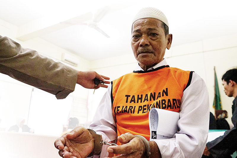 Kakek Syafrudin Berharap Dibebaskan