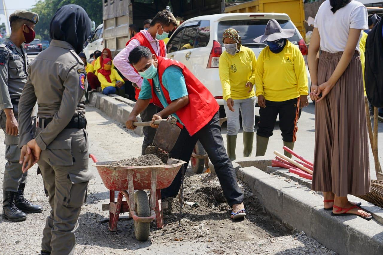 Sementara Terdata 25 Pelanggar Disanksi Denda dan Kerja Sosial