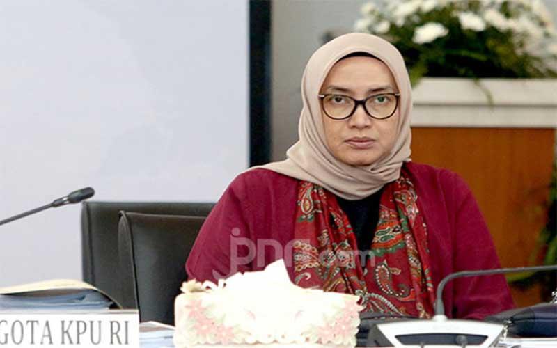 DKPP Pecat Evi Novida Ginting dari Komisoner KPU RI