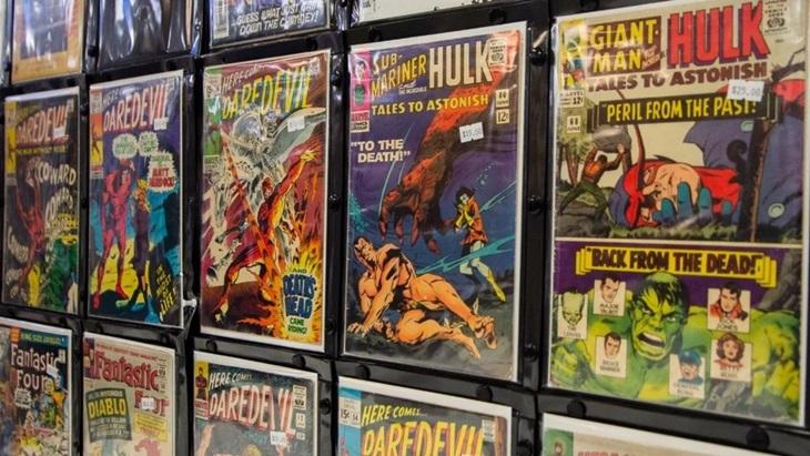 Pasar Komik Ambruk, Distributor Marvel dan DC Tak Bayar Vendor