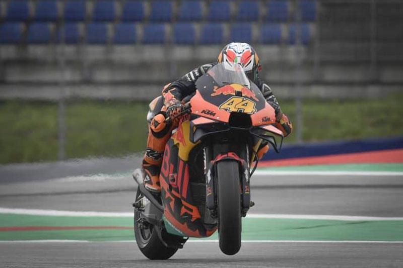 Pembalap KTM Kuasai Sesi Latihan Bebas Hari Pertama