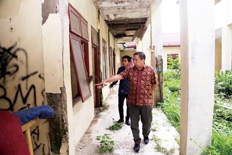 Komisi III Prihatin dengan Asrama Mahasiswa Sri Junjungan Kabupaten Bengkalis di Bogor