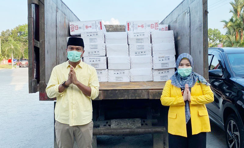 Syahrial: TAPD Bengkalis Harus Transparan Realokasi Anggaran Penanggulangan Corona