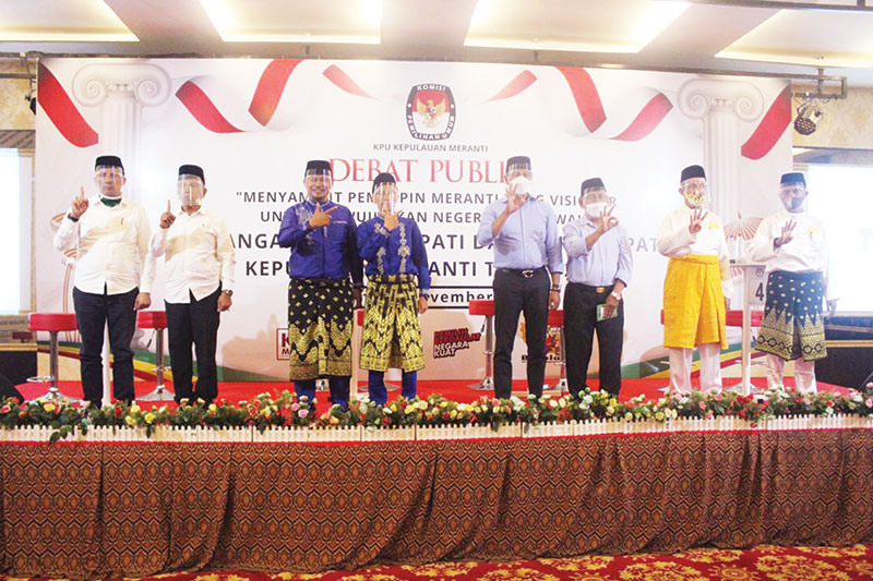 Paslon Kepala Daerah Meranti Adu Visi-Misi