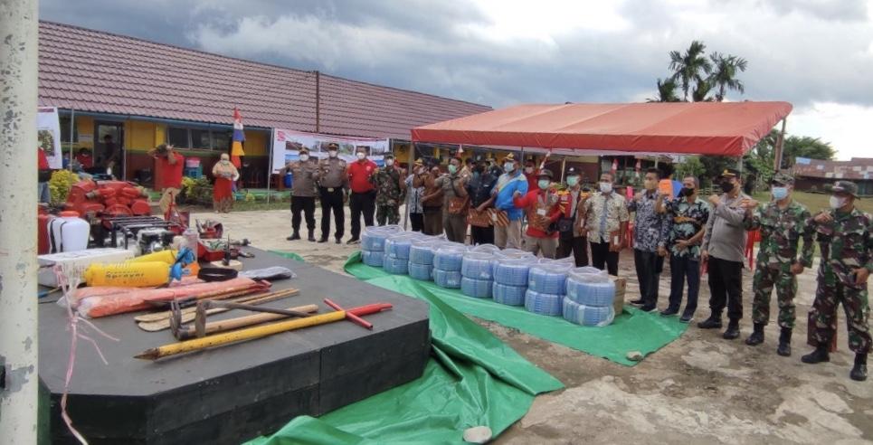 Perusahaan Ini Latih Nelayan Inhil Cegah Karhutla di Riau