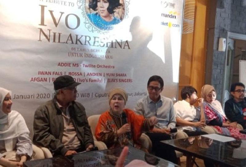 Dari Afgan hingga Iwan Fals Meriahkan Konser Tribute to Ivo Nilakreshna