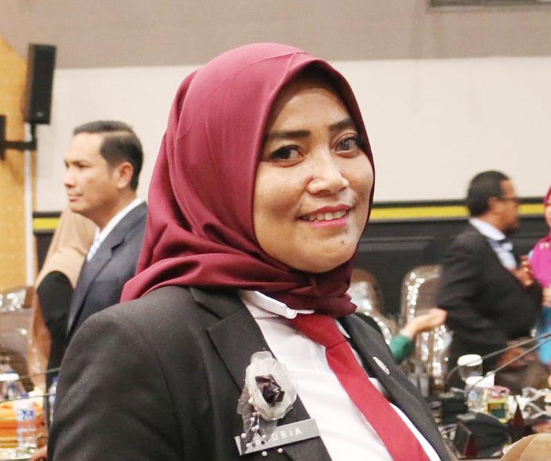 Badria Rikasari Jabat Plt Sekwan Pekanbaru