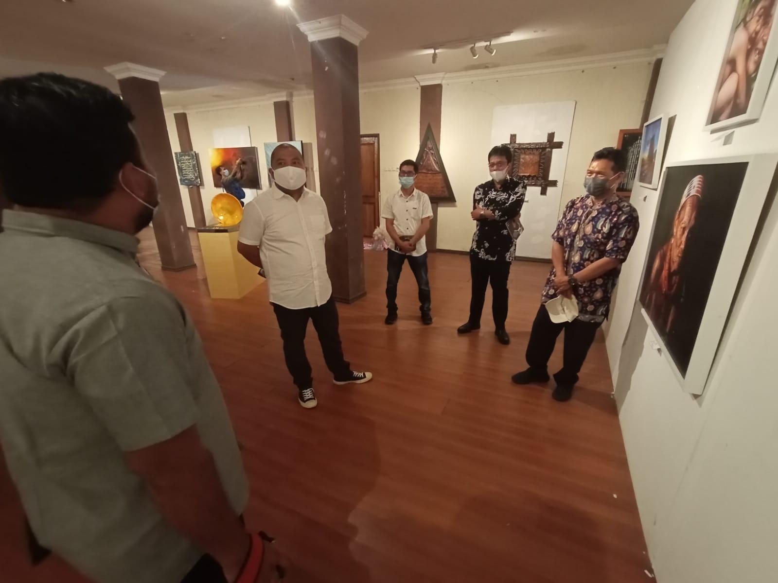 Ayo Saksikan, Pameran Seni Rupa Progress Dua Kota di Bandar Serai