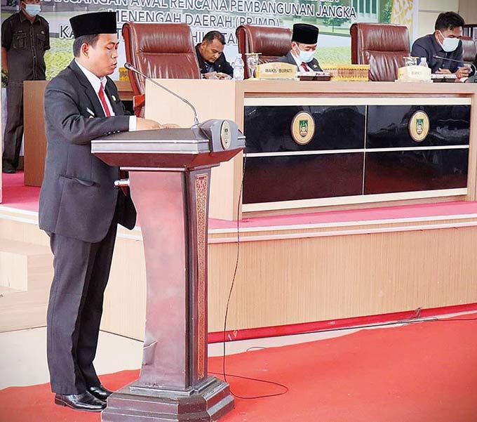 Dukungan DPRD Percepat Sasaran Program Pembangunan