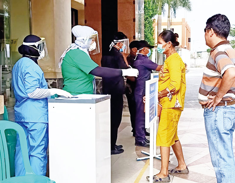 Dua PDP Dirawat di RSUD Mandau