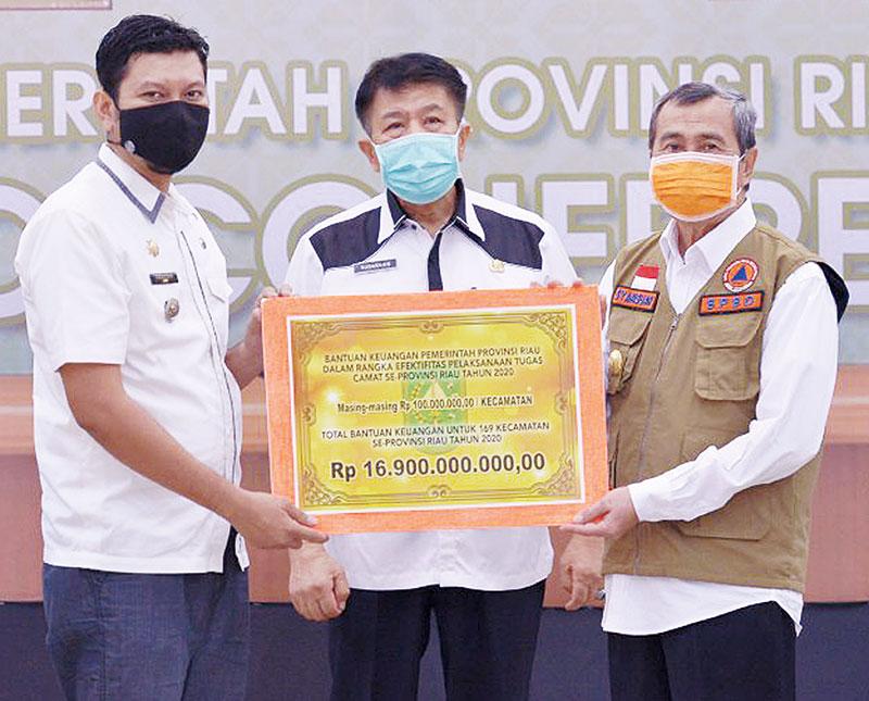 Rp191 M Dana Bantuan Sosial Pemprov Dikirim ke Kabupaten/Kota