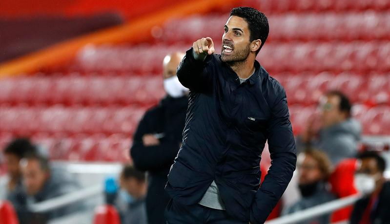 Arteta: Arsenal Belum Selevel Liverpool