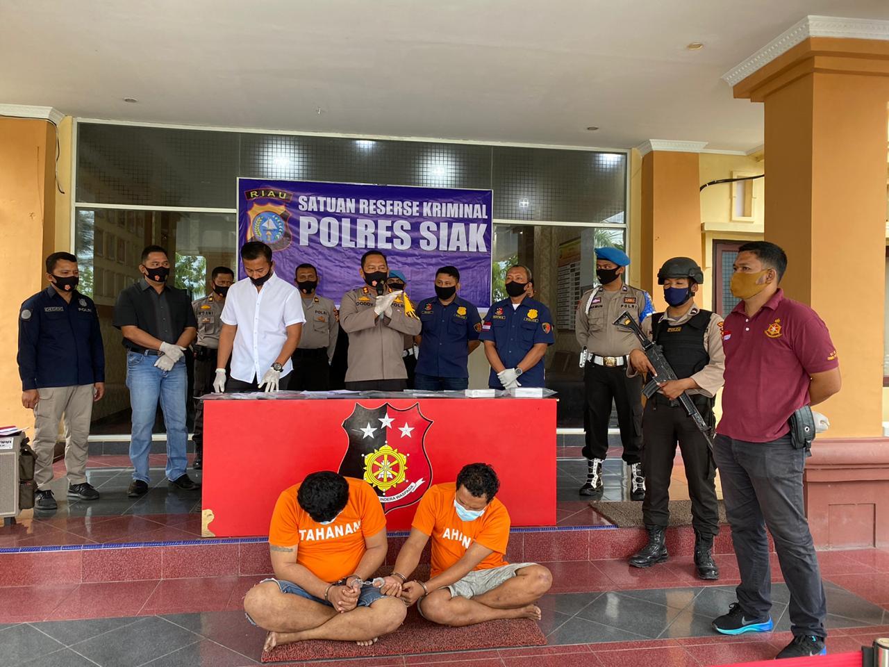 Dua Pelaku Curas di Minas Ditangkap