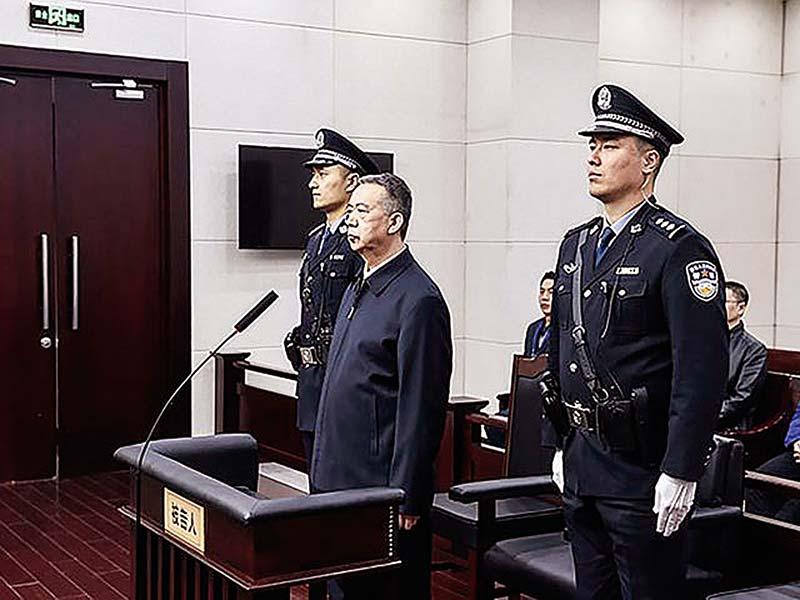 Mantan Kepala Interpol Divonis 13 Tahun Penjara