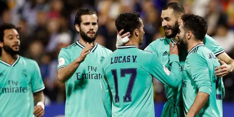 Gunduli Tuan Rumah Zaragoza, Madrid ke Perempatfinal