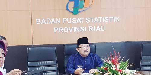 Triwulan II, Perekonomian Riau Tumbuh 2,38 Persen