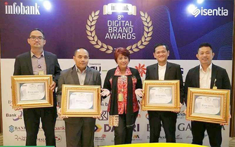 Bank Bukopin Raih 4 Penghargaan