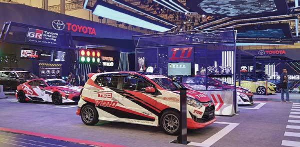 Booth Toyota Raih Penghargaan Terfavorit