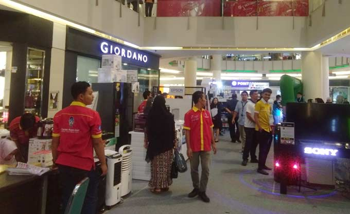 CS Mal Gelar Electronic Gadget dan IT Fair