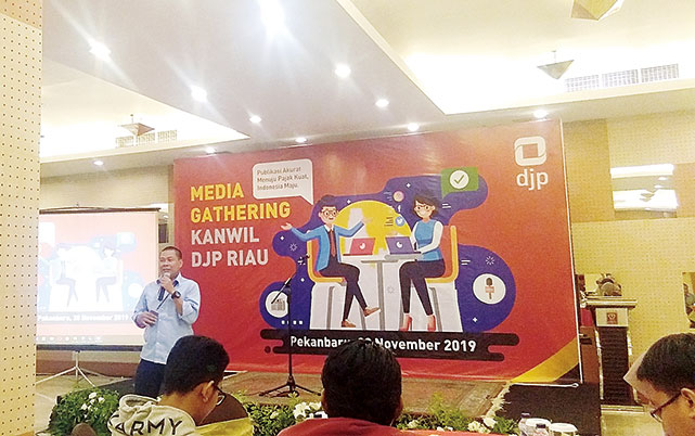 Kanwil DJP Gelar Media Gathering