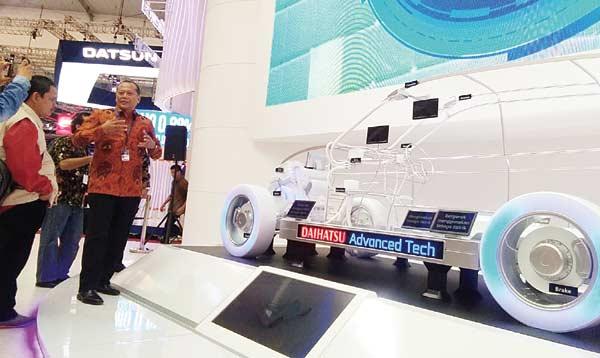 Daihatsu Perkenalkan Teknologi Hybrid