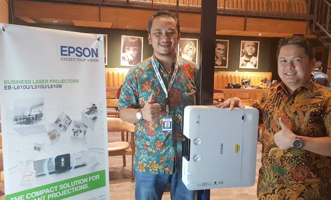 Epson Luncurkan Proyektor EB-L510 U dan EB L-610U