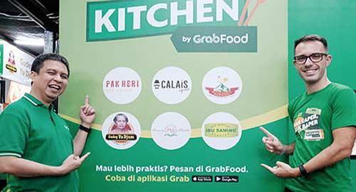 Grab Puaskan Pencinta Kuliner Melalui Kitchen by GrabFood