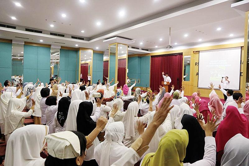 Ubah Pola Pelayanan, RSUD AA Riau Perlakukan Pasien Layaknya Ibu Sendiri