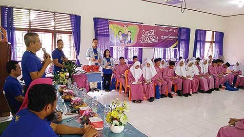 KPP Pratama Bangkinang Edukasi Siswa lewat Pajak Bertutur