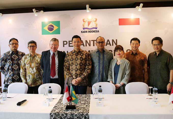 Kadin Indonesia Komite Brazil Diresmikan