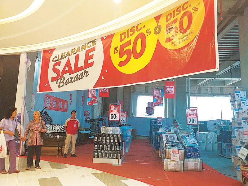 Ace Hardware Living World Gelar Clearance Sale Bazaar