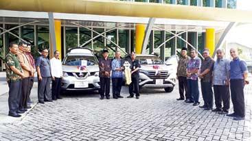 Bank Mega Syariah Serahkan Hadiah Mobil ke UIR