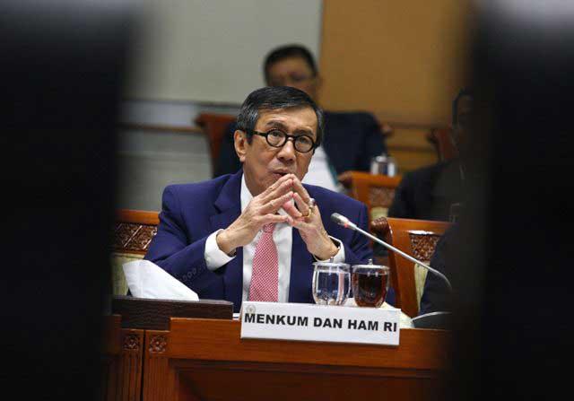 Menkumham Yasonna Percepat Penyerahan Draf RUU Omnibus Law ke DPR