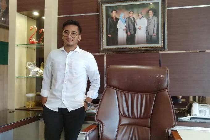 Fajar, Direktur PT BAF Termuda di Riau Siap Buktikan Diri