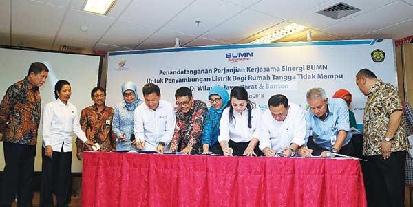 PGN Biayai Instalasi Listrik 2.000 Warga Tidak Mampu di Bogor