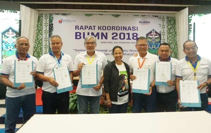 PGN Kerja Sama Penggunaan Jargas Bersama BUMN Karya dan Perumnas