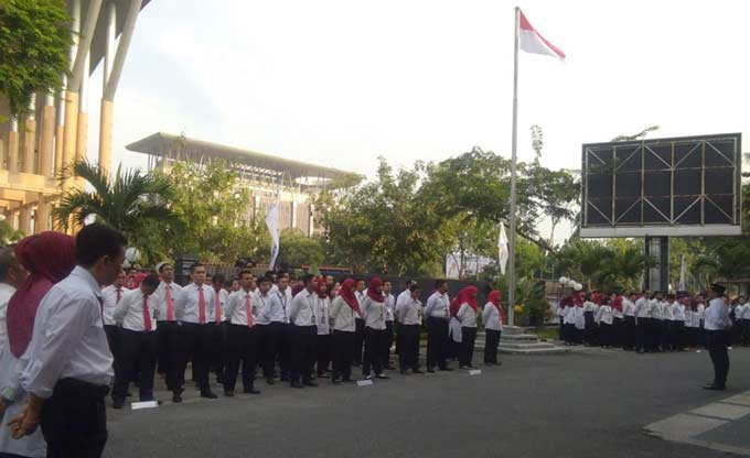 Peringati HUT Pajak, DJP Kanwil Riau Ajak Masyarakat Taat Pajak