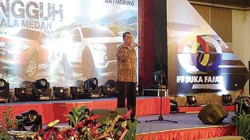 Mitsubishi PT Suka Fajar Gelar LCV Party
