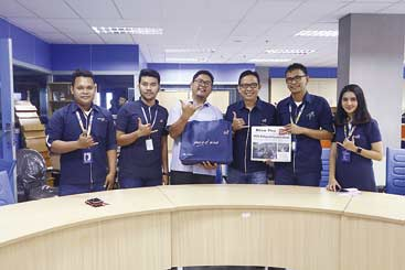 PT Asuransi Astra Buana Terkesan Dukungan Riau Pos