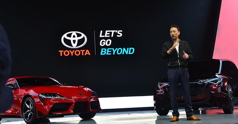 Toyota Luncurkan Mobil Sport GR Supra